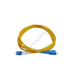 Dây nhảy quang single mode duplex LC/UPC-SC/UPC