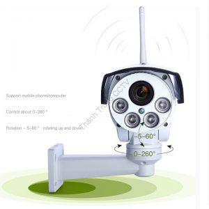 Camera wifi PTZ ngoài trời 1.3Mp zoom 4X