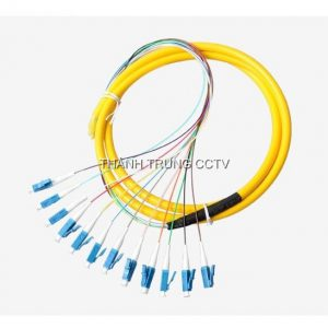 Dây hàn quang single mode LC/UPC 12 màu