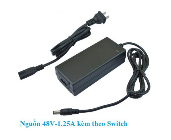 Switch PoE 4 cổng 100Mbps