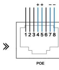 POE power supply adaper 24-48VDC