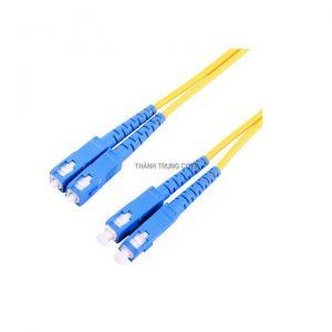 Dây nhảy quang single mode SC/UPC duplex