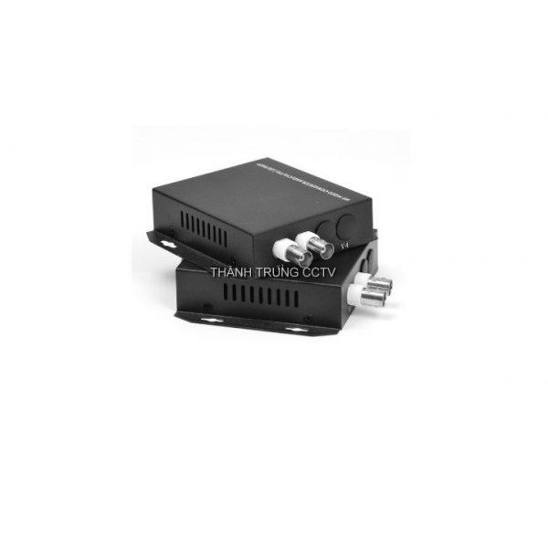 Chuyển quang cáp đồng trục 02 kênh 1.3Mp