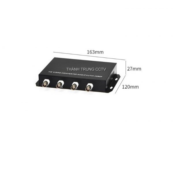Chuyển quang cáp đồng trục 04 kênh 1080P