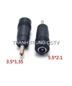 Đầu chuyển jack nguồn DC từ 5.5mm ra 3.5mm