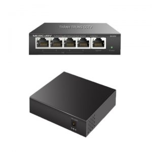 Switch Mecury 5 port 1Gbps vỏ kim loại