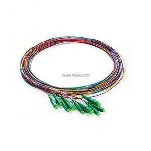 Dây hàn quang pigtail LC/APC 12 màu