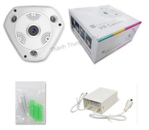 Camera IP Fisheye 360 3.0Mp