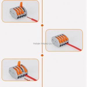 Đầu nối điện nhanh 4 chân PC214