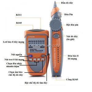 Bộ dò dây mạng và điện thoại PK65H