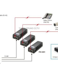 POE injector 1Gbps PSE801G