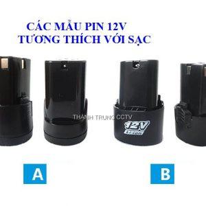 Sạc trực tiếp dùng cho pin máy khoan 12V
