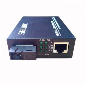 Converter single mode 1Gbps SGLINK