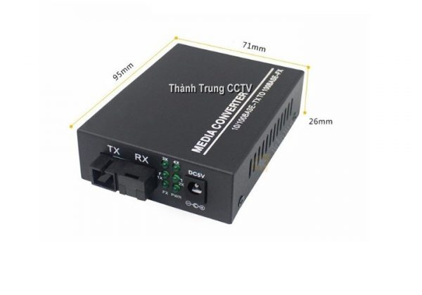Converter quang 2 cổng Lan 1Gbps