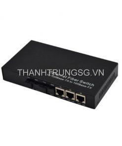 Switch 2 cổng quang 3 cổng LAN