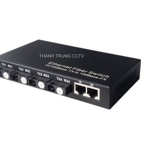 Switch 4 cổng quang single mode 155Mbps