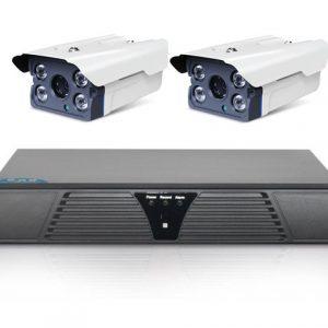 Bộ 2 camera AHD SPECTU 1.3Mp ngoài trời