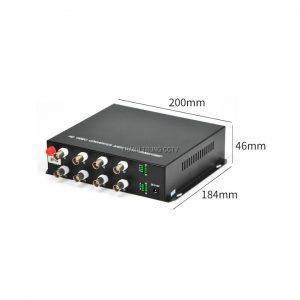 Bộ chuyển quang cáp đồng trục 08 kênh 2.0Mp